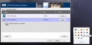 Ошибки акселерометра в ноутбуках HP