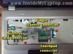 Разборка ноутбука HP Pavillion DV7