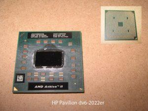 Замена процессора на ноутбуке HP Pavillion DV6